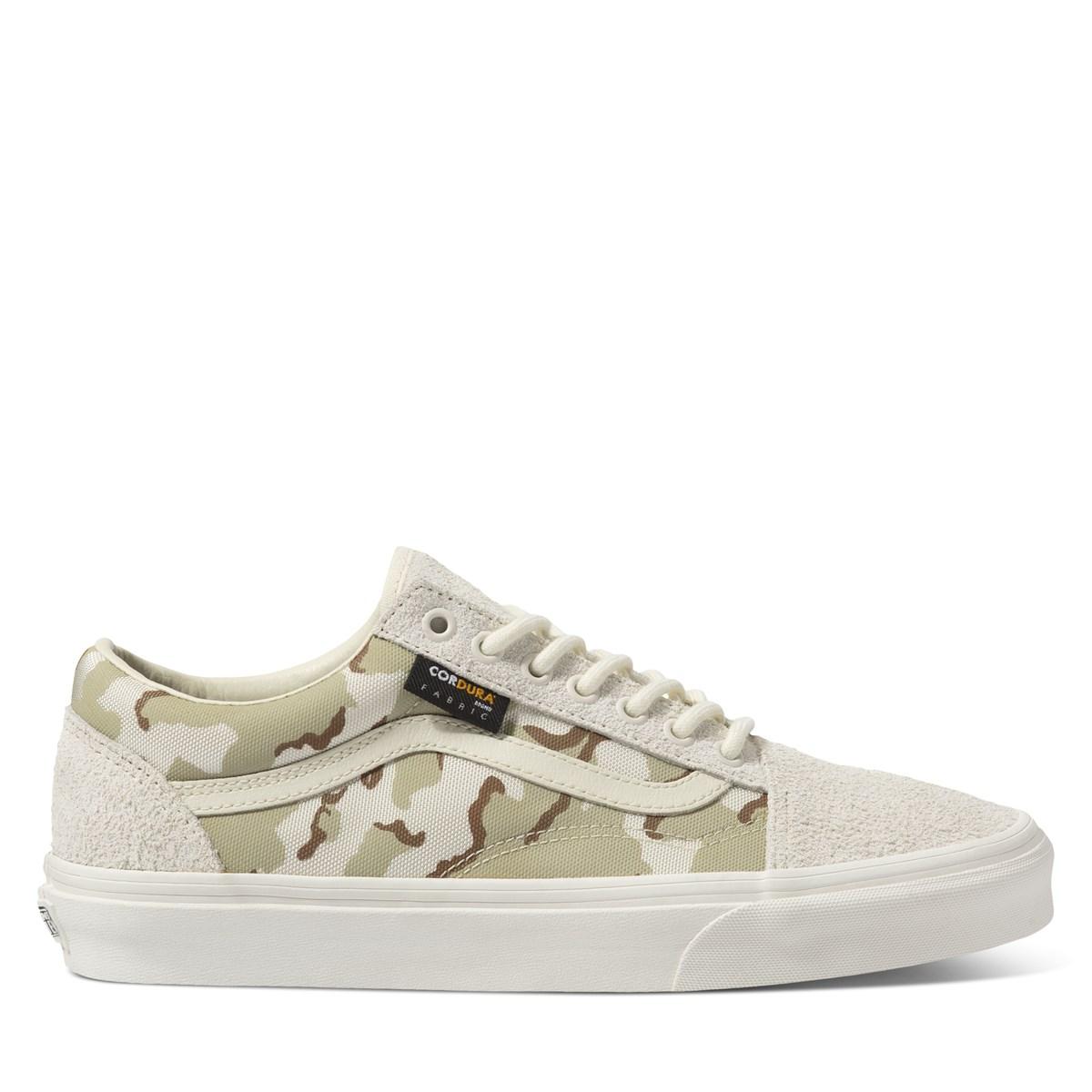 Men's Old Skool Sneakers in Camo