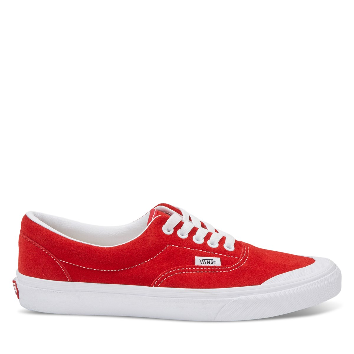 Men's Era TC Sneakers in Red Suede