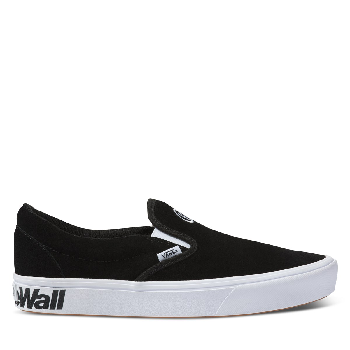 Men's Comfycush Slip-Ons in Black