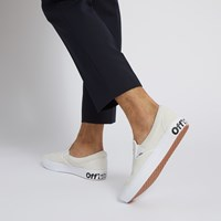 Men's Comfycush Slip-Ons in White