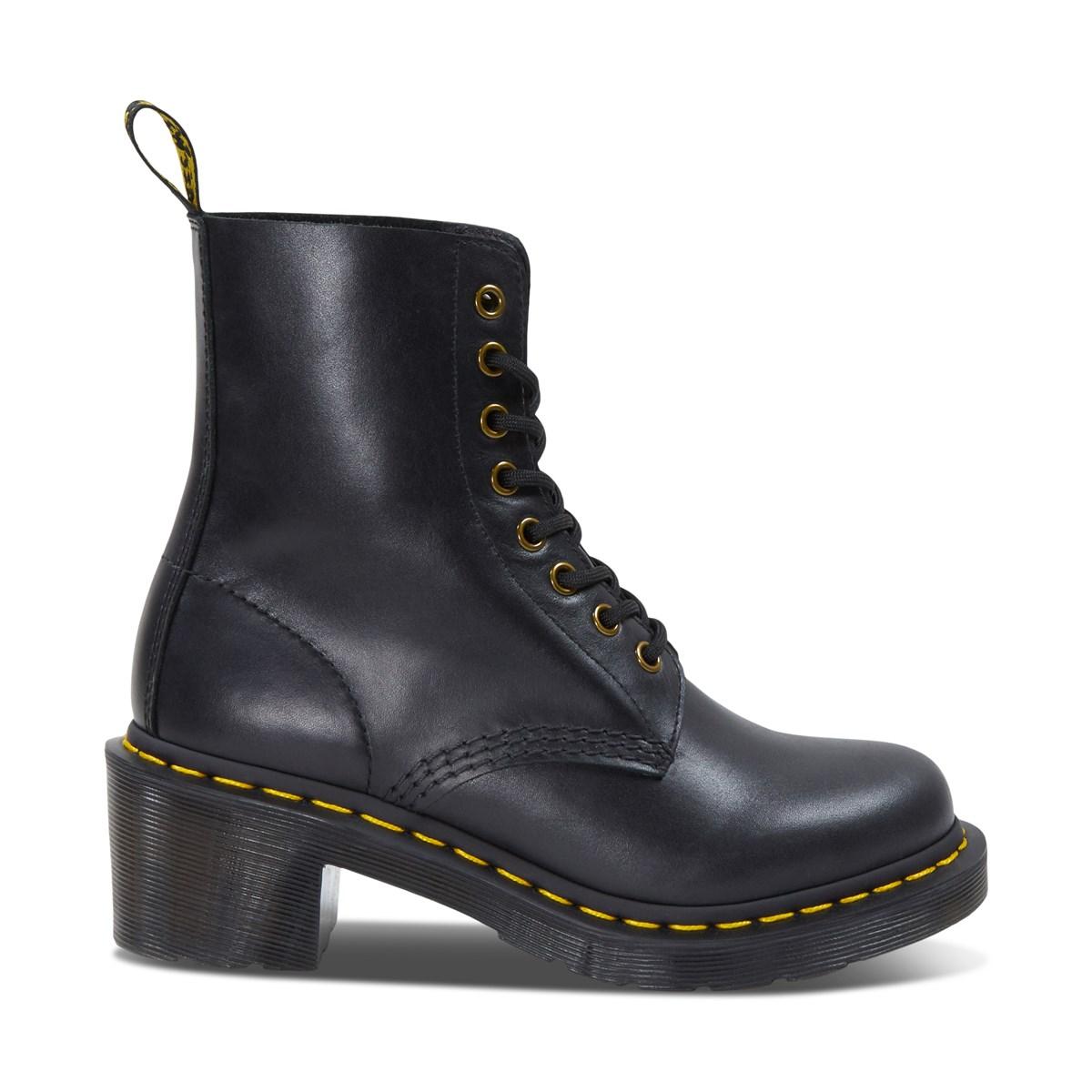 Women's Clemency Wanama Heeled Boots in Black