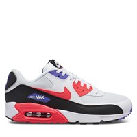 Men's Air Max 90 Sneakers in White / Red