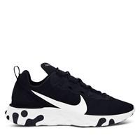 Men's React 55 Element Sneakers in Black