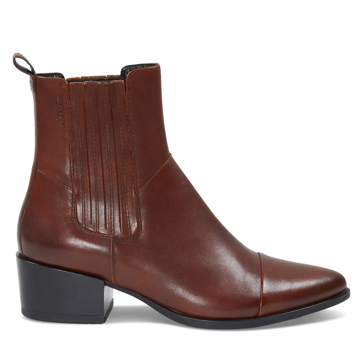 Women's Marja Toe Chelsea Boots in Brown