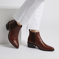 Women's Marja Chelsea Boots in Brown