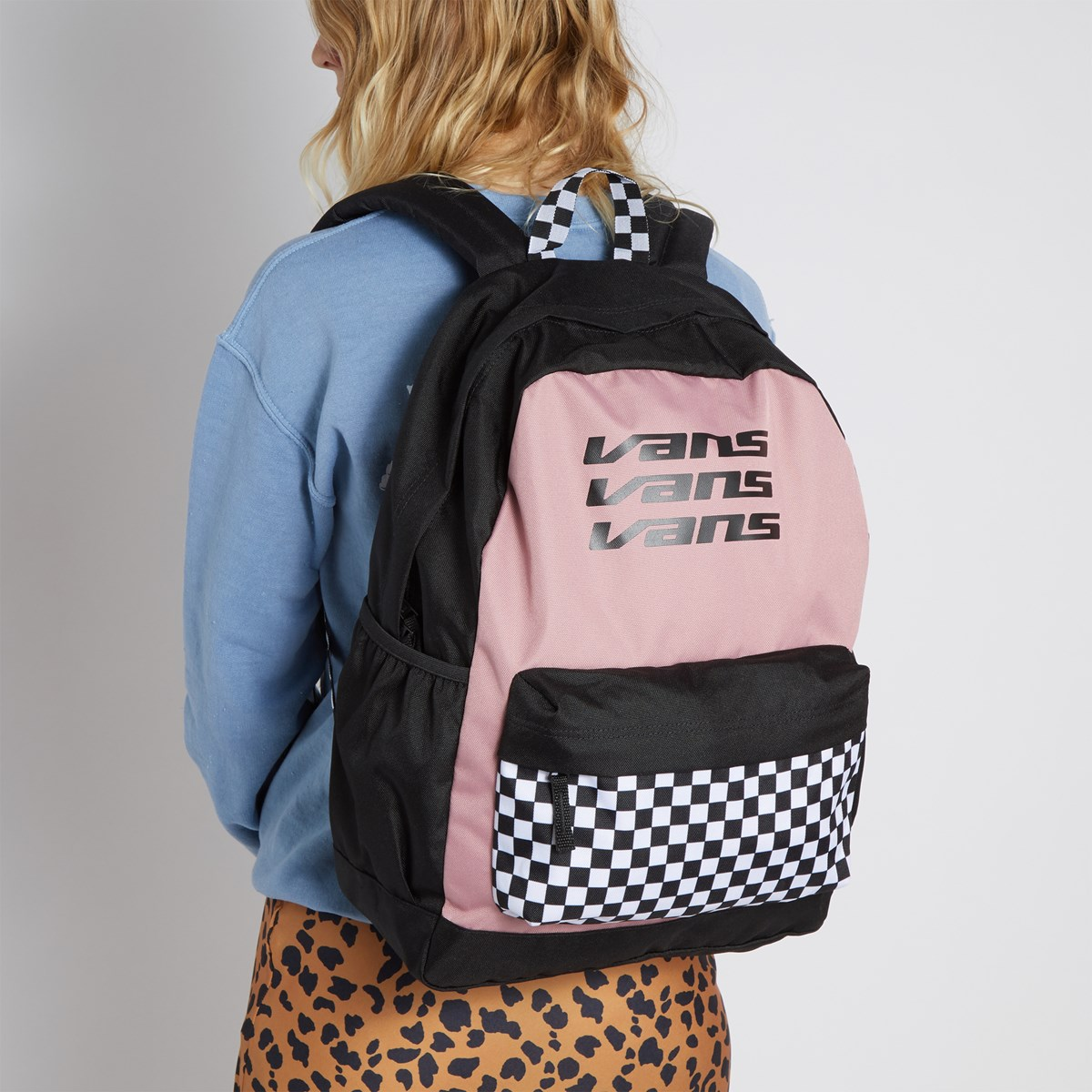 Sporty Realm Plus Backpack in Pink