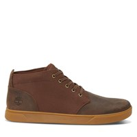 Men's Groveton Chukka Shoes in Dark Brown