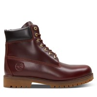 Men's Heritage 6 Inch Waterproof Boots in Dark Red