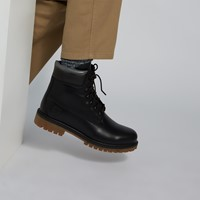 Men's Heritage 6 Inch Waterproof Boots in Black