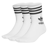 3 Pair Pack of Mid Cut Crew Socks