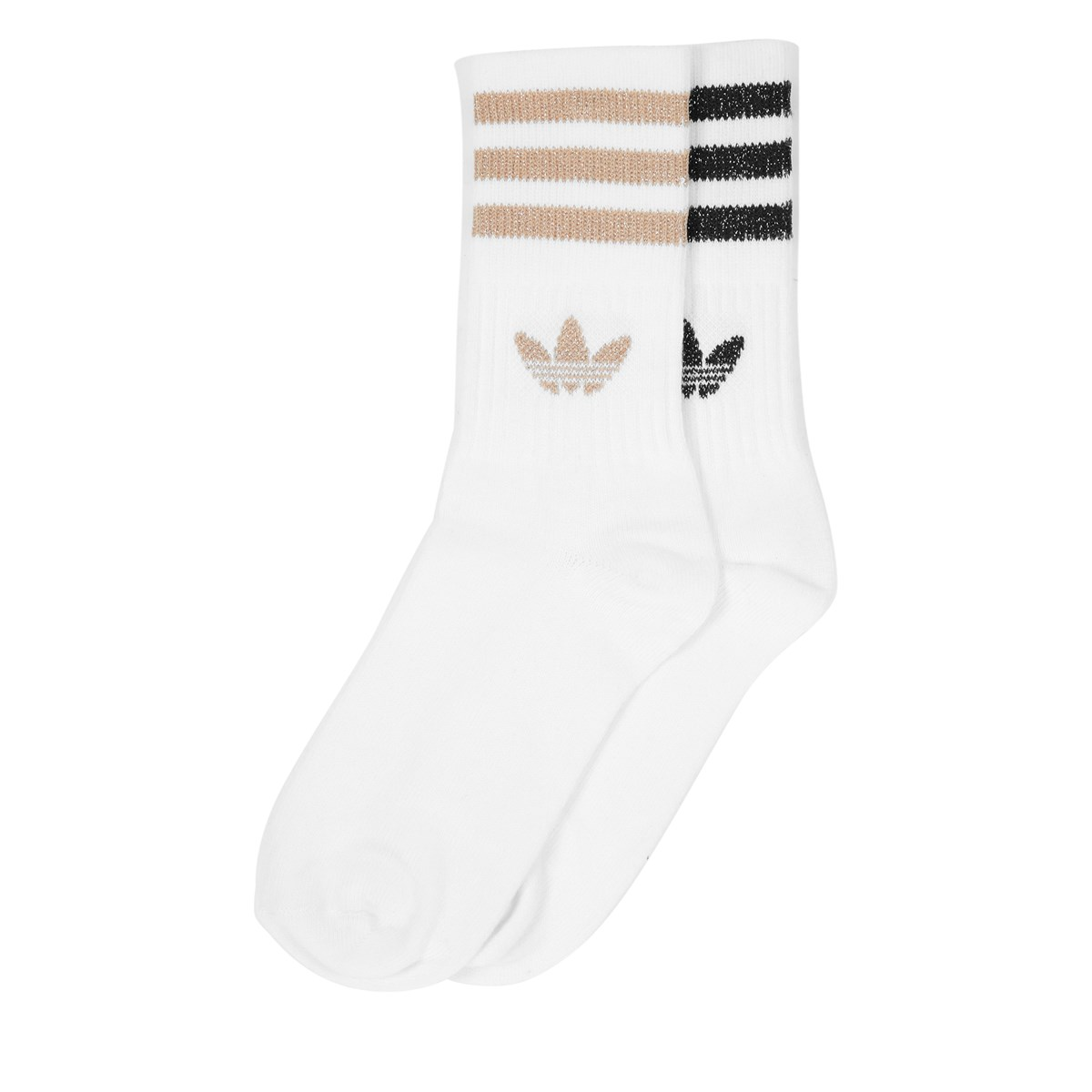 Women's 2 Pair Pack of Mid Cut Crew Socks