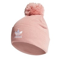 AC Bobble Knit Beanie in Pink