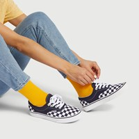 Women's Checkerboard Era Sneakers in Blue