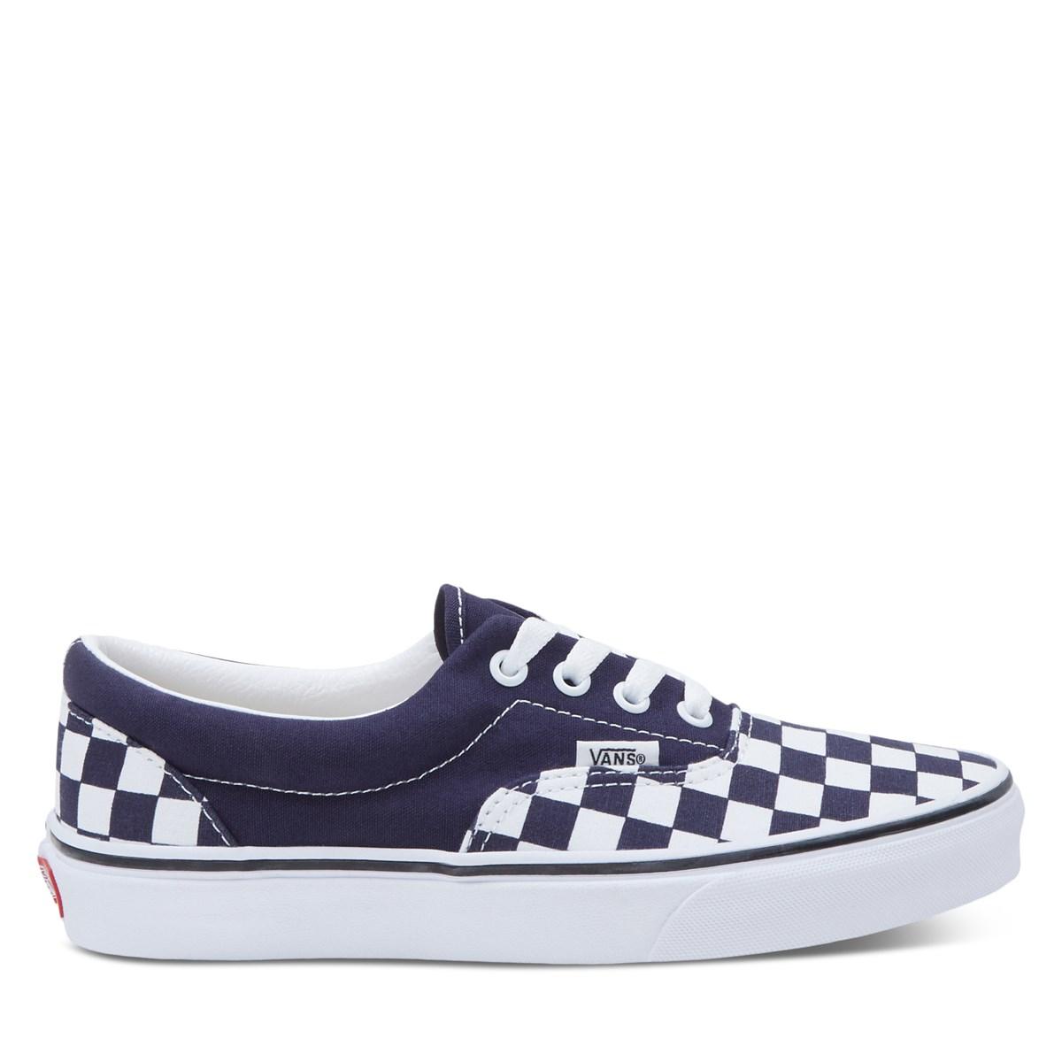 Women's Checkerboard Era Sneakers in Blue