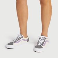 Baskets Retro Sport Style 36 grises pour femmes