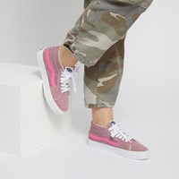 Women's Retro Sport Sk8-Mid Sneakers in Pink