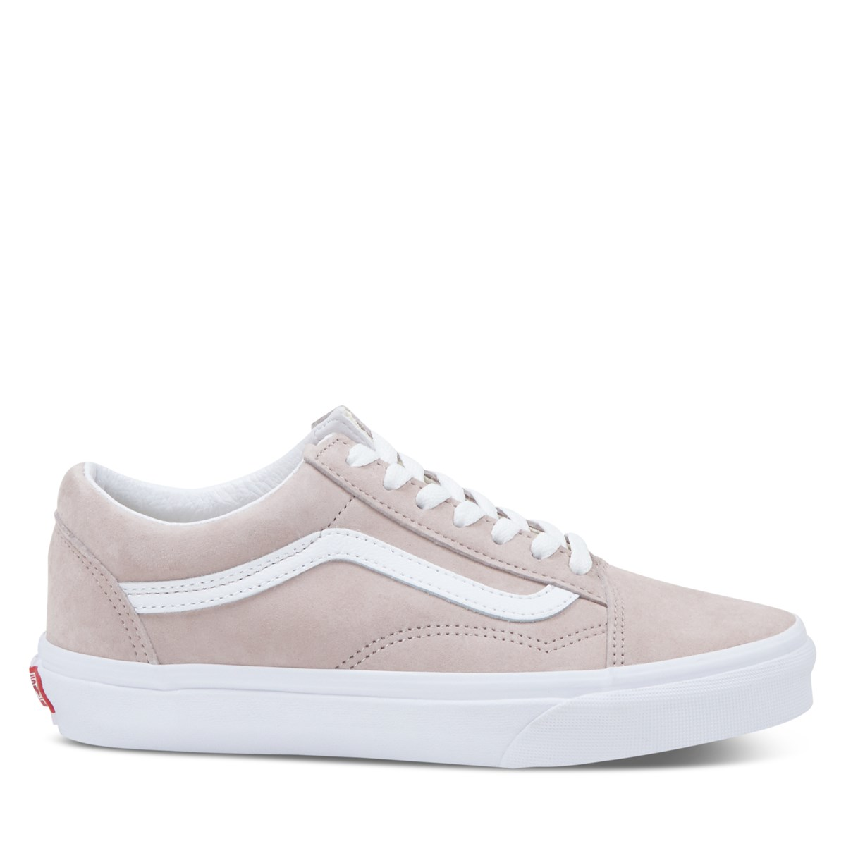Women's Old Skool Sneakers in Pink Suede