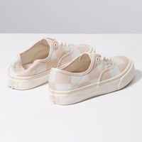 Women's Authentic SF Sneakers in Checkered Light Pink