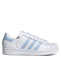 Women's Superstar Sneakers in Baby Blue
