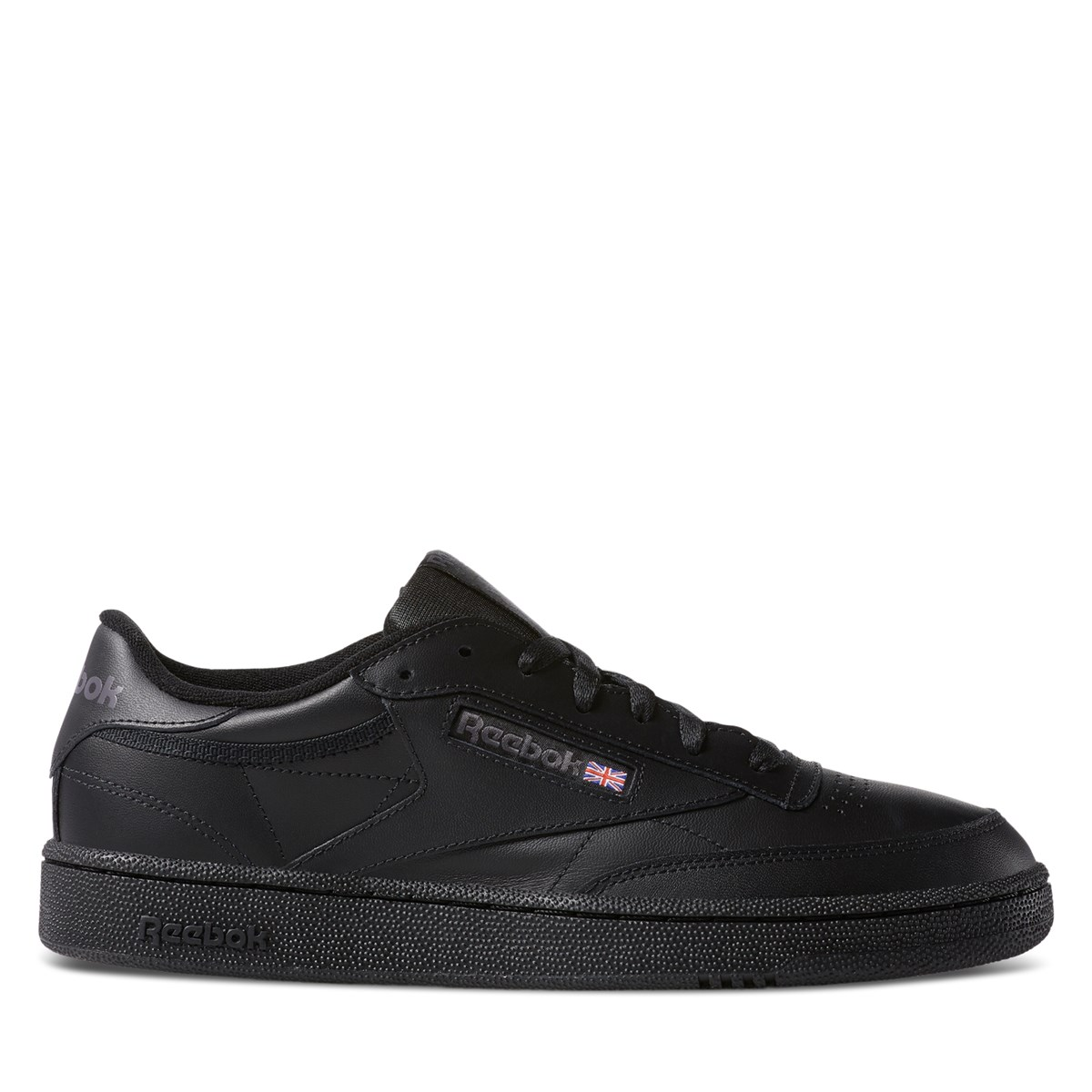 Men's Club C Sneakers in Black