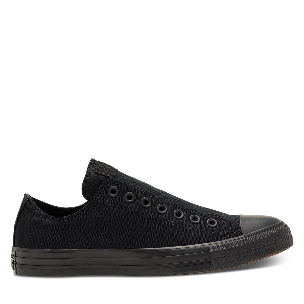 Men's Chuck T Slip Sneakers in Black
