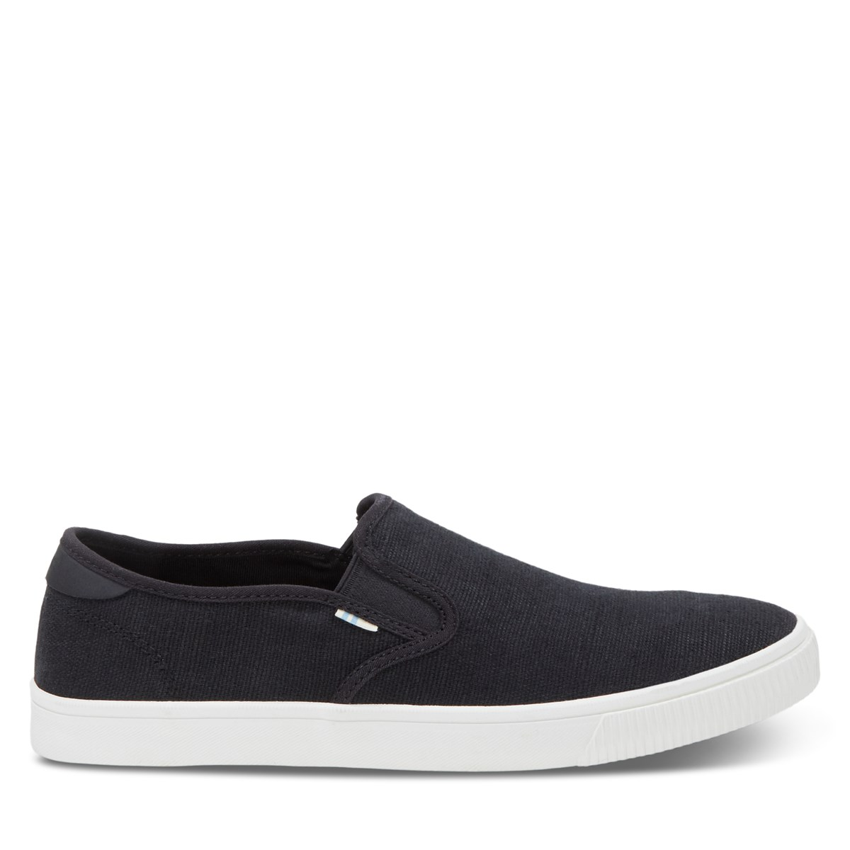 Men's Baja Vegan Slip-Ons in Black