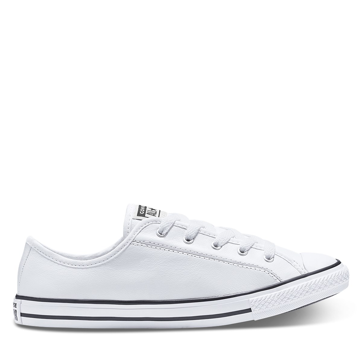 Women's CTAS Dainty Sneakers in White Leather