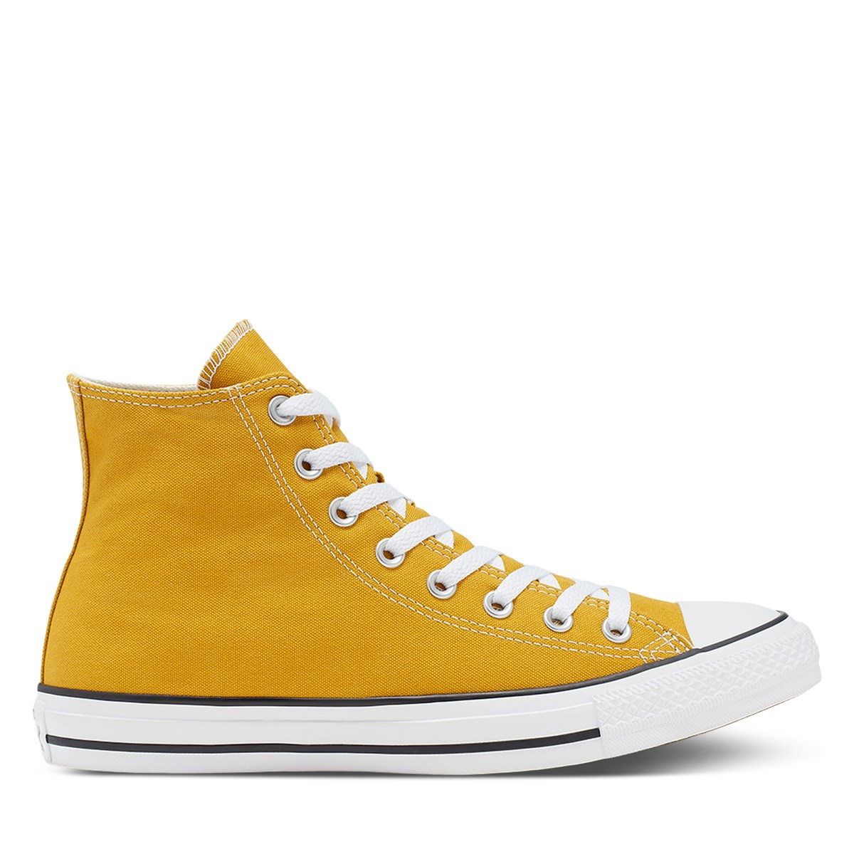 Women's Chuck Taylor High Top Sneakers in Gold