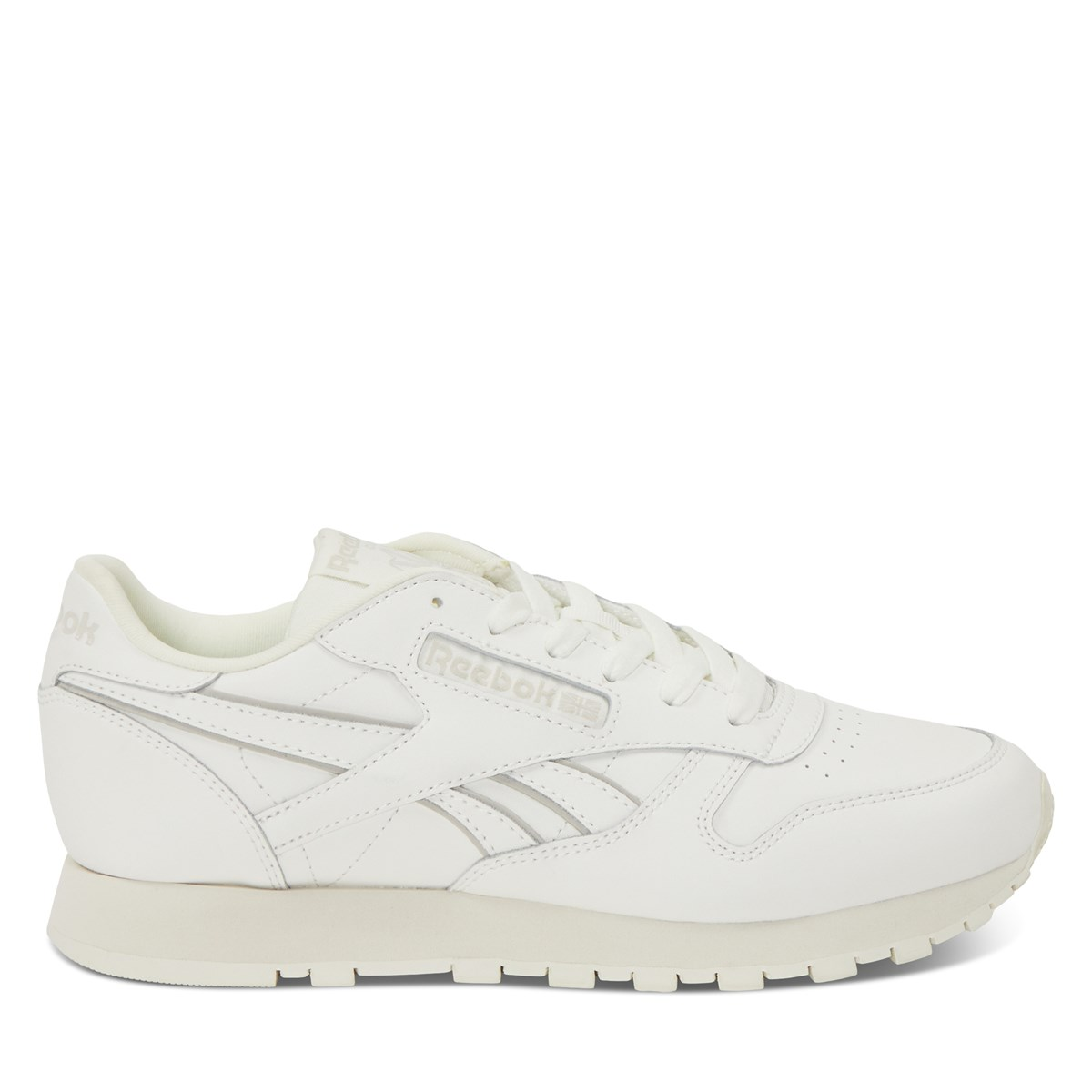 Women's Classic Leather Sneakers in Chalk