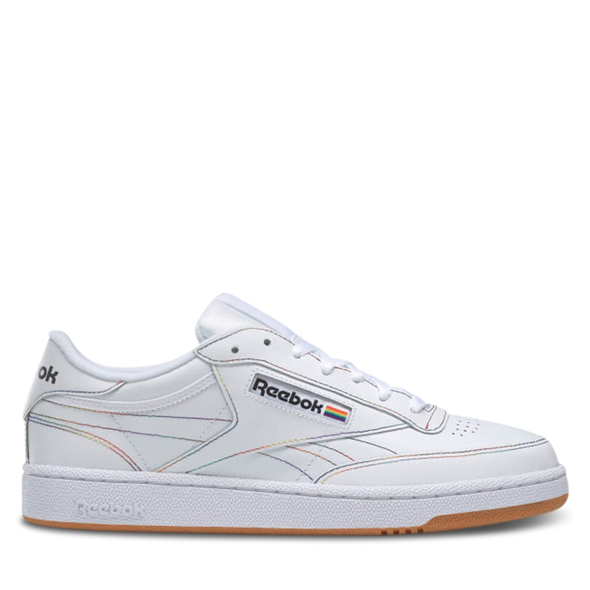 Club C 85 Pride Sneakers in White