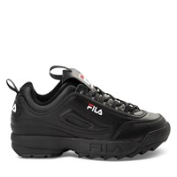 Women's Disruptor II Premium Sneakers in Black
