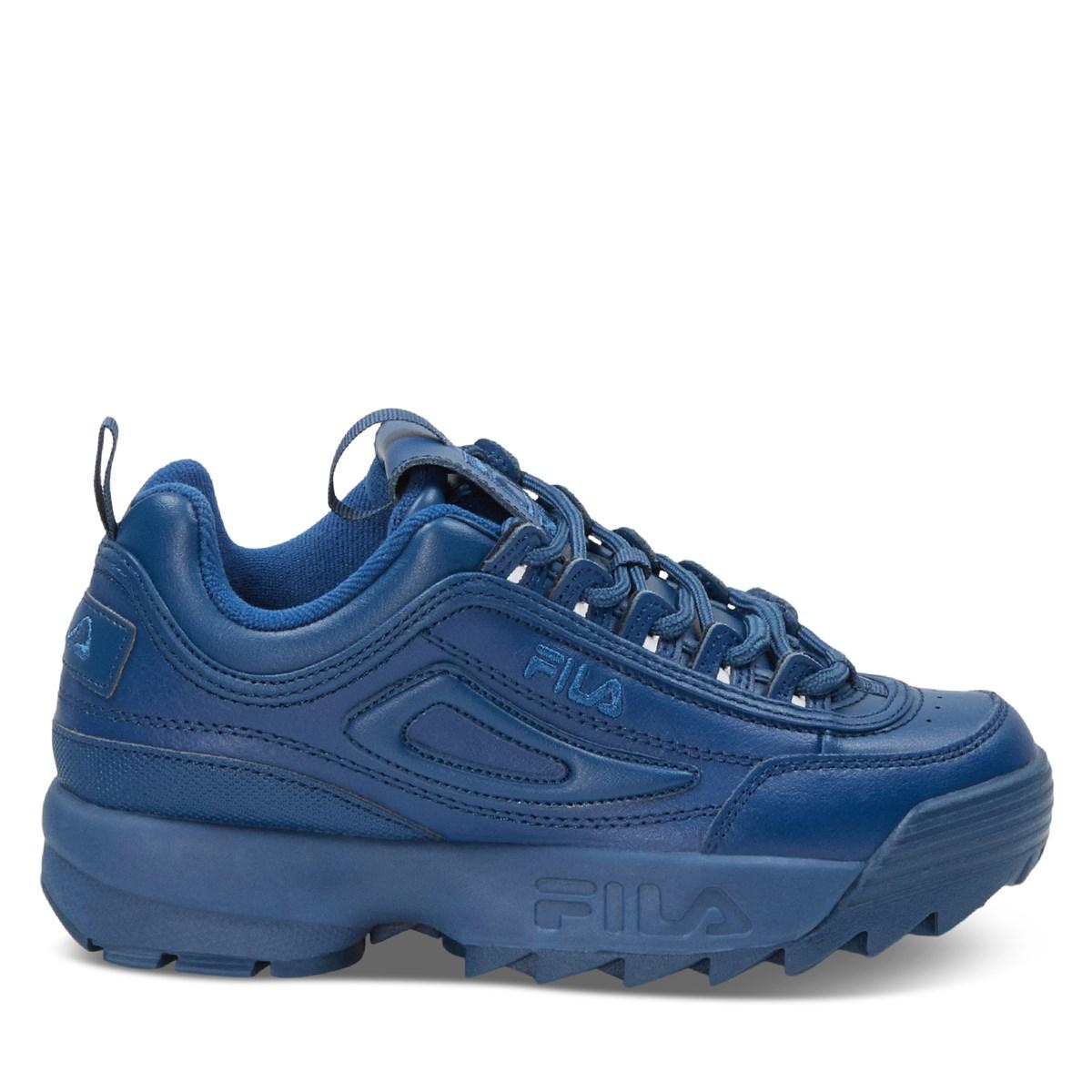 Women's Disruptor II Sneakers in Blue