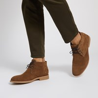 Men's Emilio Chukka Boots in Brown
