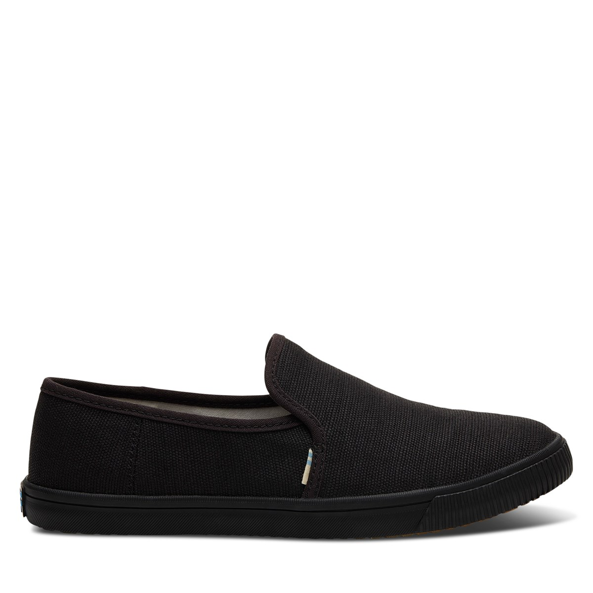 Women's Vegan Clemente Heritage Slip on Shoes in All Black
