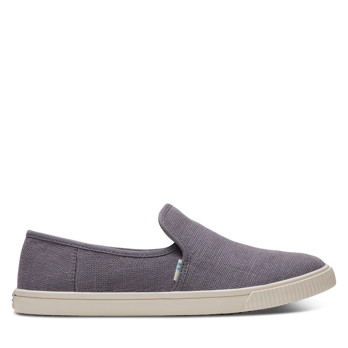 Chaussures sans lacets Clemente Heritage véganes grises pour femmes