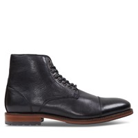 Men's Vincent Lace-Up Boots in Black