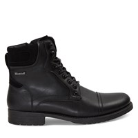Men's Stefan Lace-Up Boots in Black