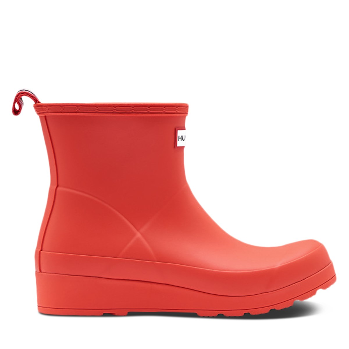 Women's Original Play Short Rain Boots in Red