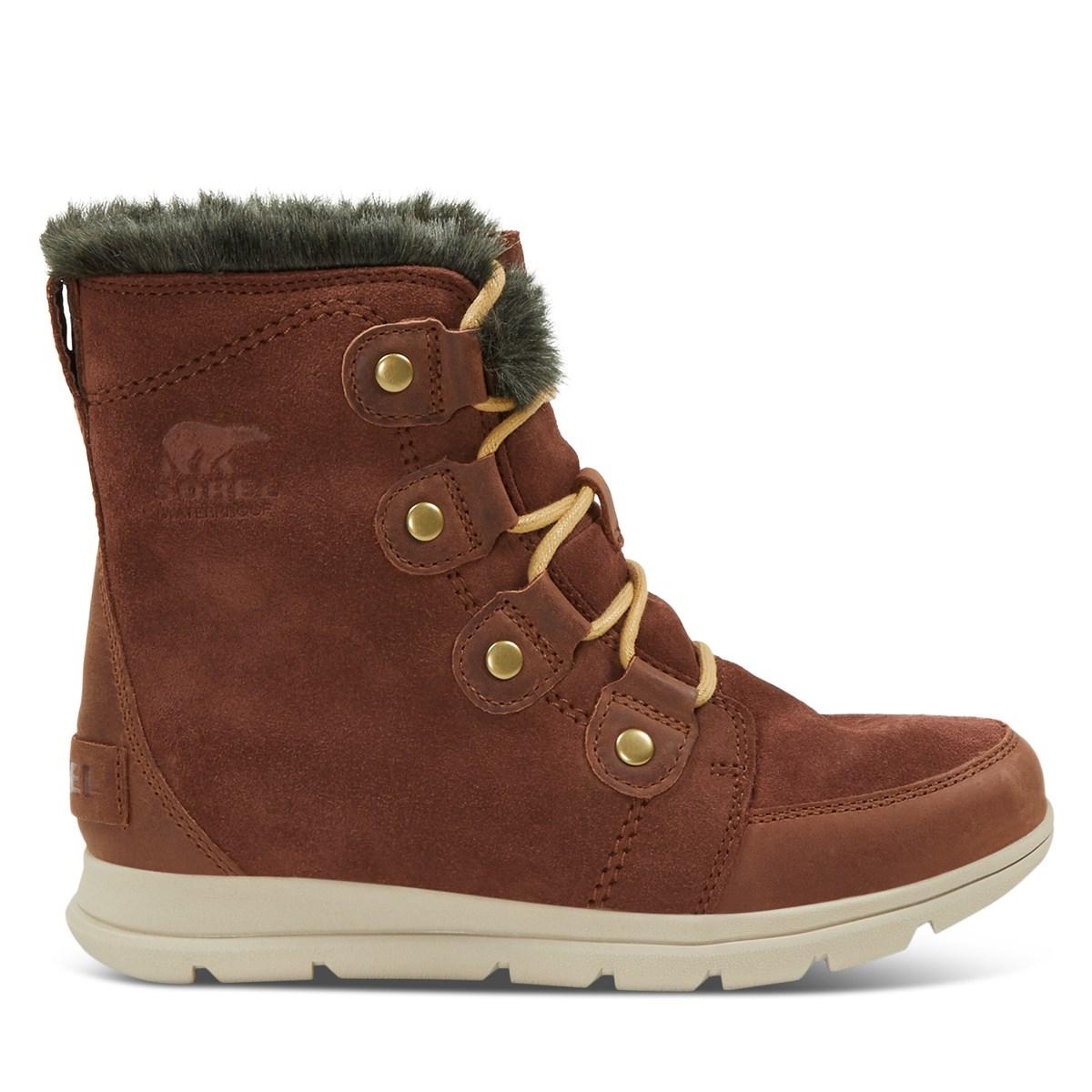Women's Explorer Joan Waterproof Boots in Brown