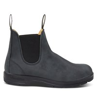 587 Leather Lined Chelsea Boots in Rustic Black