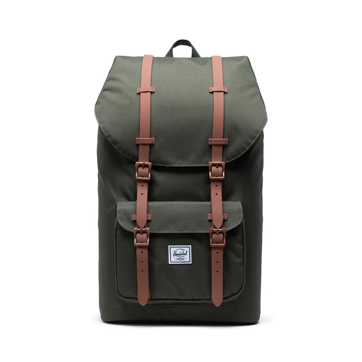 Little America Backpack in Dark Green
