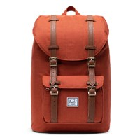Little America Mid Volume Backpack in Dark Orange
