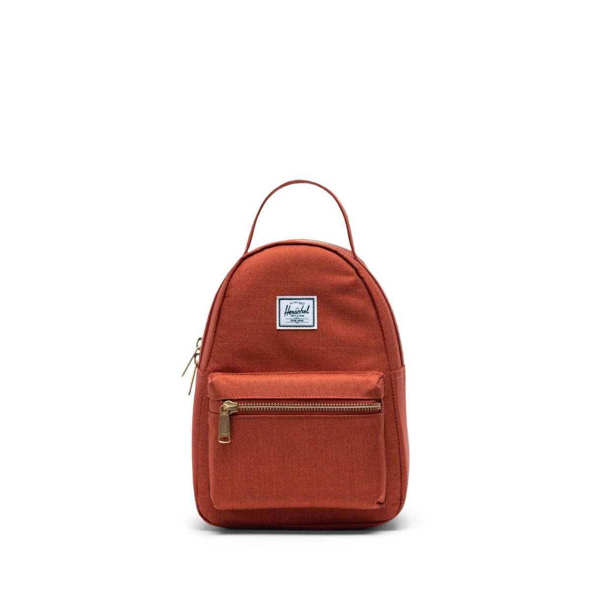 Nova Mini Backpack in Dark Orange