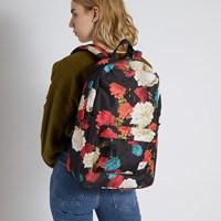 Heritage Backpack in Floral Black