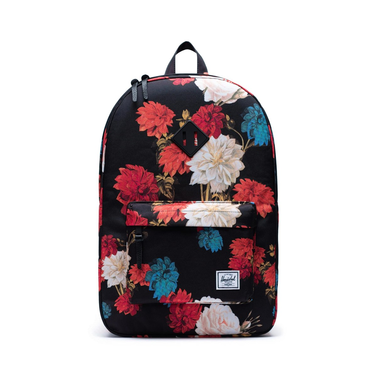 Heritage Backpack in Floral Black