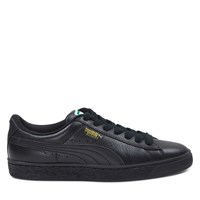 Men's Basket Classic Sneakers in Black