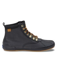 Women's Scout II Matte Canvas Waterproof Boots in Black