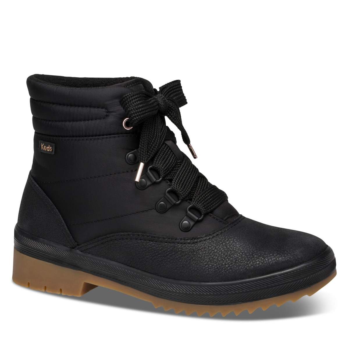 Women's Camp Waterproof Boots in Black