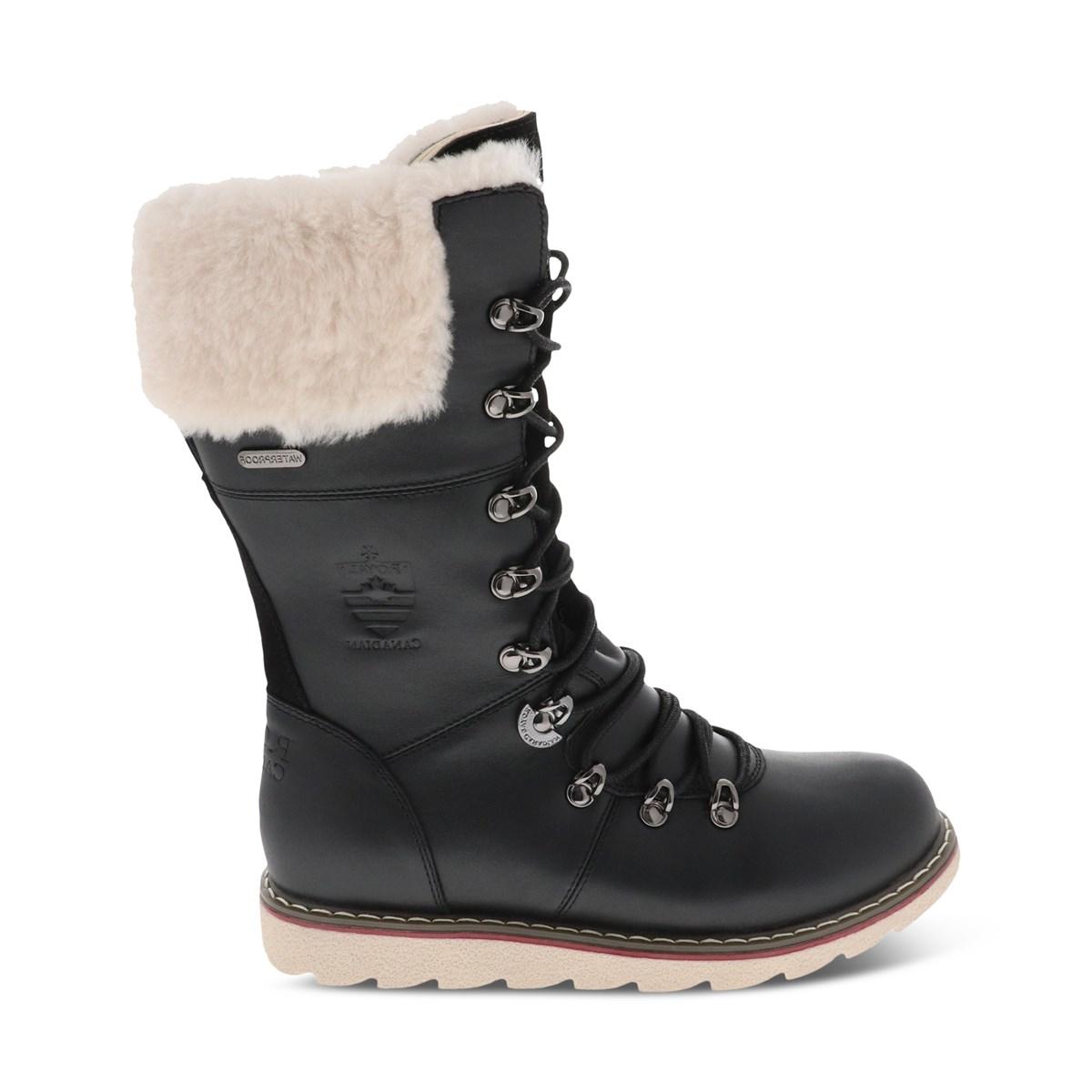 Women's Castlegar Waterproof Boots in Black