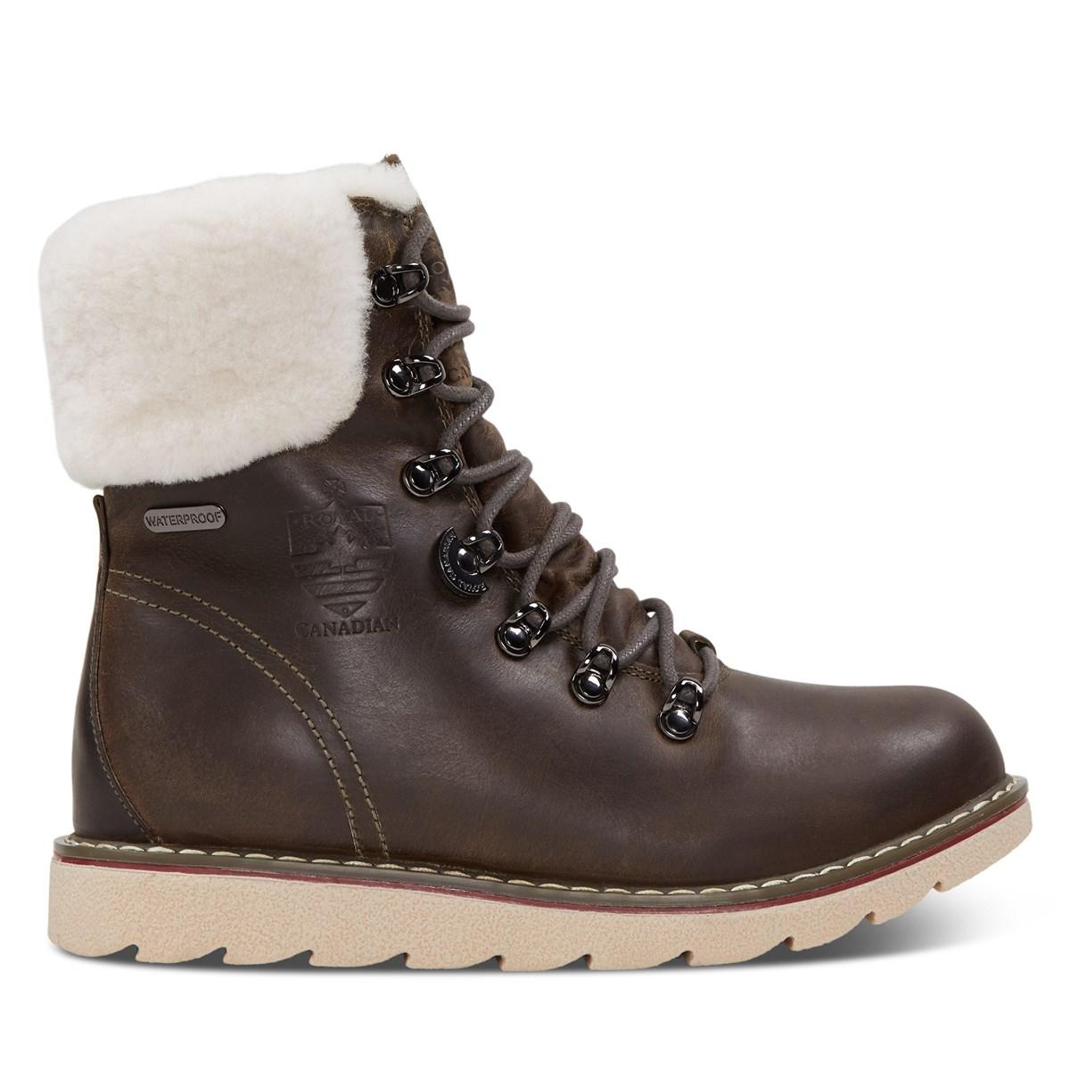 Women's Cambridge Waterproof Boots in Brown